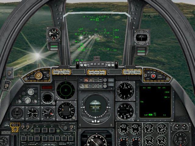 A-10 Thunderbolt II Cockpit